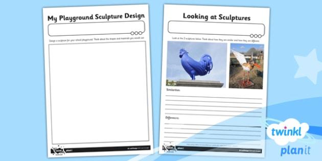 Art: Let's Sculpt KS1 Unit Home Learning Tasks