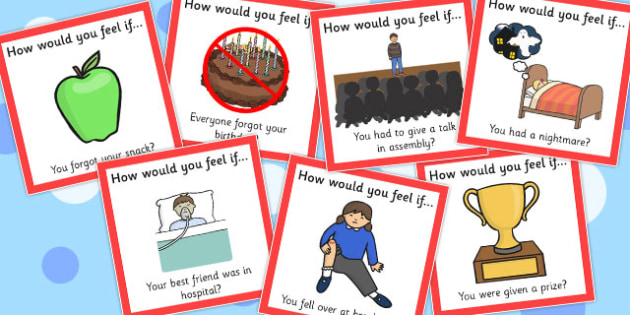 'How Would You Feel if...?' Cards (Set 2) - feel, emotions, cards, how, you