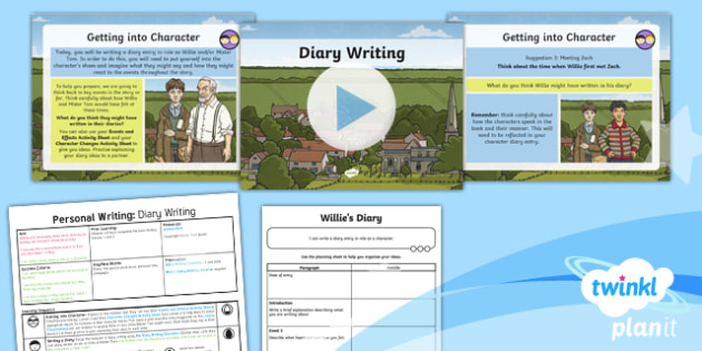 PlanIt Y5 World War II: Goodnight Mister Tom Lesson Pack Personal Writing (3)