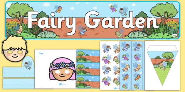 Fairy Garden Role Play Pack - fairy, garden, role-play, pack