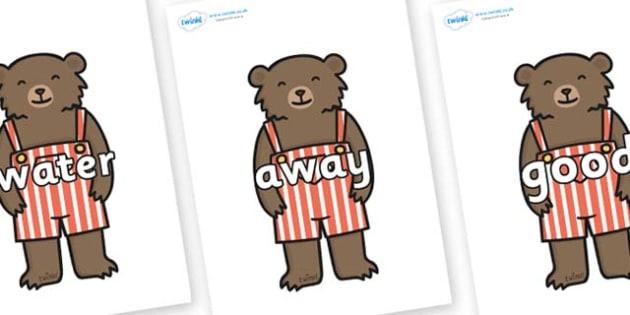 Next 200 Common Words on Little Bear - Next 200 Common Words on  - DfES Letters and Sounds, Letters and Sounds, Letters and sounds words, Common words, 200 common words