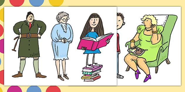 Story Cut Outs to Support Teaching on Matilda - matilda, roald dahl, story, cut outs