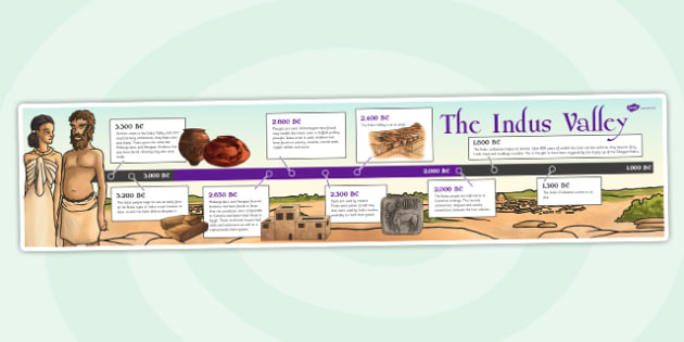 The Indus Valley Timeline - indus valley, bronze age, history