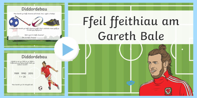 Fact File Gareth Bale  Bilingual Resource PowerPoint-Welsh