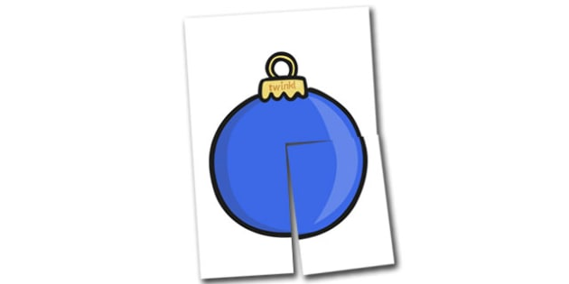Extra Large Display Christmas Bauble Cut-outs (Plain) - Christmas, xmas, bauble, large display, display, tree, advent, nativity, santa, father christmas, Jesus, tree, stocking, present, activity, cracker, angel, snowman, advent , bauble