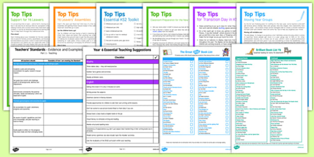 Teaching in Year 6 Resource Pack - Year 6 New Class Resources