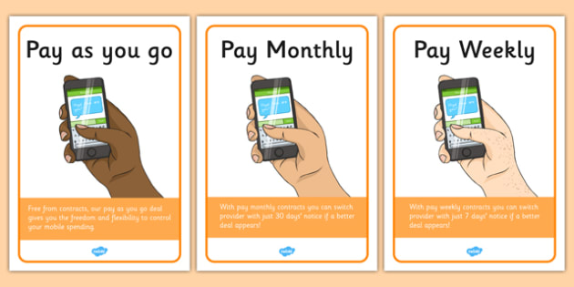 Mobile Phone Shop Role Play Display Posters - mobile phone, shop, display, banner, poster, sign, shopping, activity, telephone, ring, call