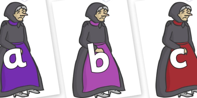 Phoneme Set on Witches - Phoneme set, phonemes, phoneme, Letters and Sounds, DfES, display, Phase 1, Phase 2, Phase 3, Phase 5, Foundation, Literacy