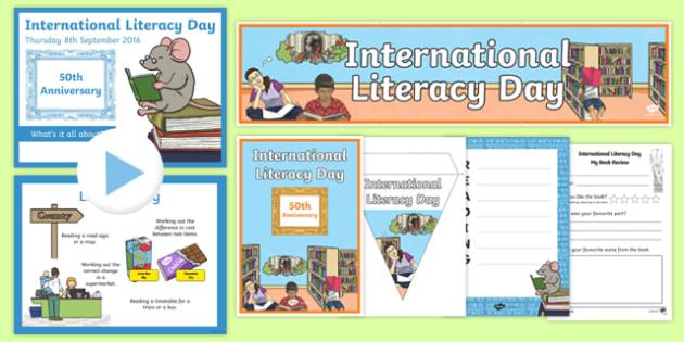 International Literacy Day Resource Pack
