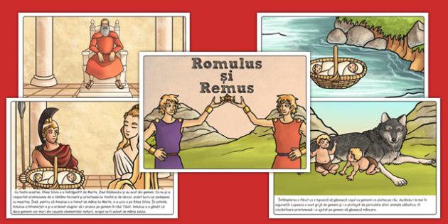 Povestea lui Romulus si Remus, Planse - istorie, legende, romana