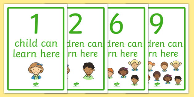 How Many Children Can Learn Here? Display Posters - display poster