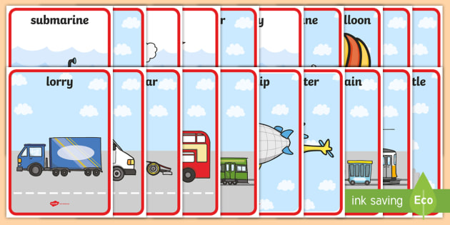 Transport Display Posters - display, posters, A4 posters, transport posters, travel, transport, transportation, modes of transport, poster, classroom display posters