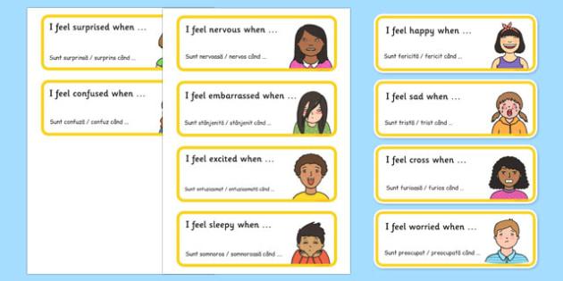 Feelings Rounds Sentence Starters Romanian Translation - romanian, feelings, rounds, sentence