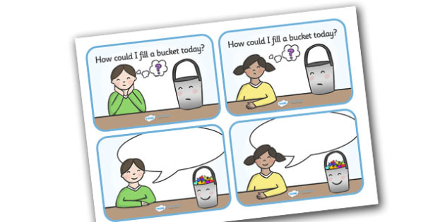 How Could I Fill a Bucket Today Cards (Editable) - have you filled a bucket today, filling buckets, Carol McCloud, cards, editable, flashcards, happyness, children