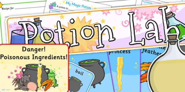 Potion Lab Role Play Pack - potion lab, potion, science, roleplay