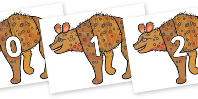 Numbers 0-100 on Hyena to Support Teaching on The Bad Tempered Ladybird - 0-100, foundation stage numeracy, Number recognition, Number flashcards, counting, number frieze, Display numbers, number posters
