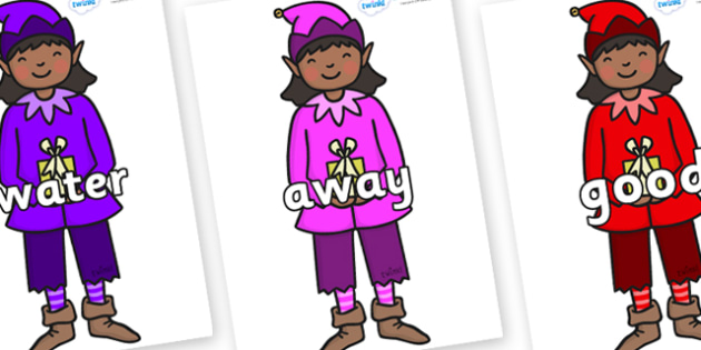 Next 200 Common Words on Girl Elves (Multicolour) - Next 200 Common Words on  - DfES Letters and Sounds, Letters and Sounds, Letters and sounds words, Common words, 200 common words