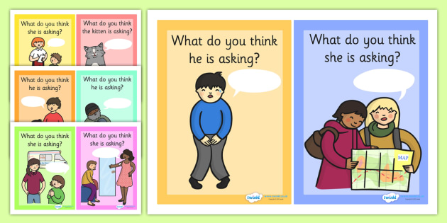 What Are They Asking Question Prompt Cards - what are they asking, asking questions, fill in, prompt cards, question prompt cards, writing prompts, cards, flashcards, questions, how to ask a question, prompts, what