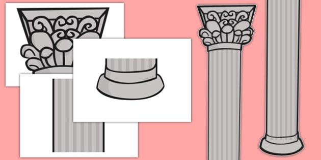 Large Display Pillars - large, display, pillars, display pillars, classroom