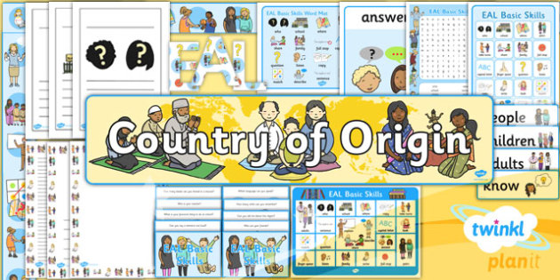 PlanIt - EAL Intervention - Basic Skills Additional Resources Pack