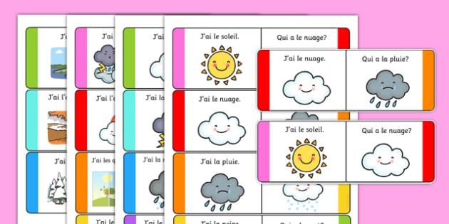 Cartes en boucle sur la météo