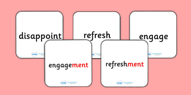Suffix Matching Cards ment - suffixes, suffix, suffix matching cards, prefixes and suffixes, suffix ment, suffix game, suffix activity, words ending in ment