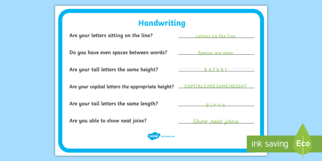 Handwriting Reminder Sheets - education, home school, child development, children activities, free, kids, worksheets, how to write, literacy