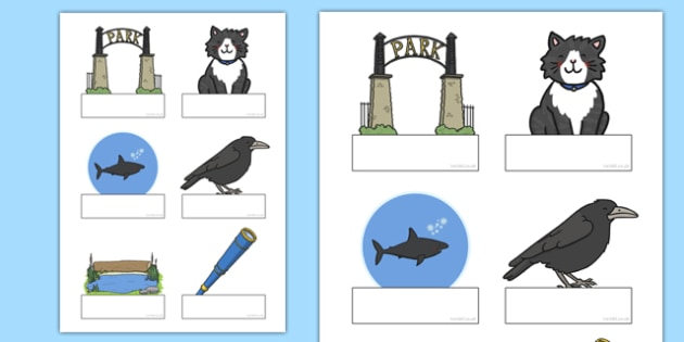 Is That a Shark? Editable Self-Registration - shark in the park, sharks, telescope, guessing, rhyme, rhyming, labels, signs, register, early years, eyfs