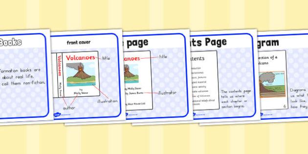Information Book Display Posters - australia, display, posters