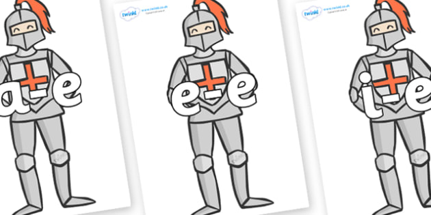 Modifying E Letters on Knights - Modifying E, letters, modify, Phase 5, Phase five, alternative spellings for phonemes, DfES letters and Sounds
