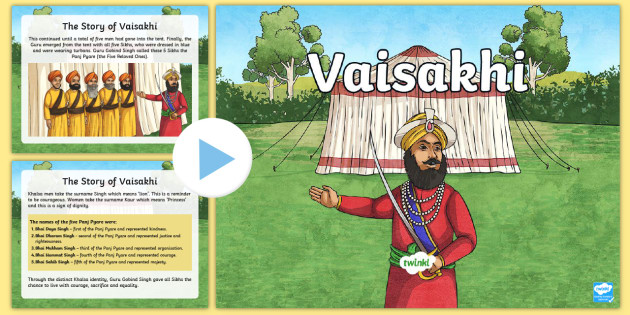 Vaisakhi PowerPoint - vaisakhi, powerpoint, information, sikh