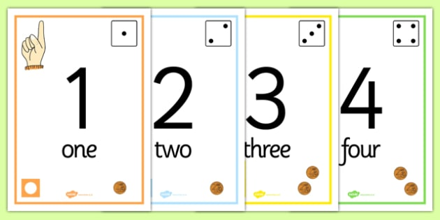 Visual Number Line Posters 1 to 100 Euros - visual, number line, posters