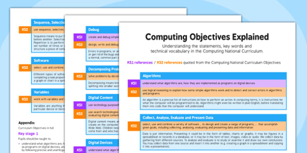 Computing Objectives Explained - computing, objectives, explained