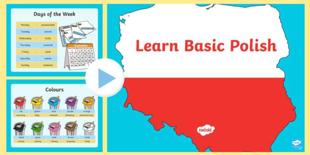 Basic Polish PowerPoint