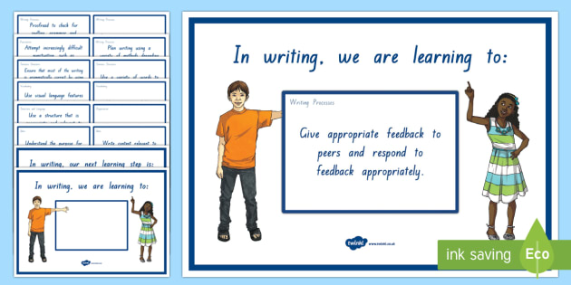 New Zealand Writing Level 3 WALT, Learning To and Next Steps Display Posters
