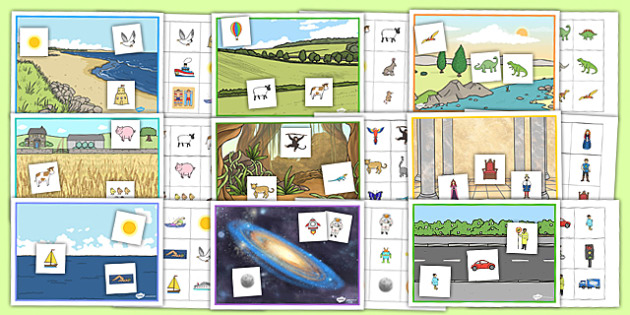 Barrier Games Pack - games, activities, space, sea, farm, jungle