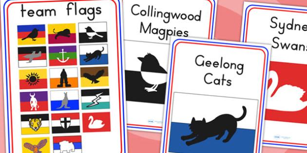 Australian Football League Team Display Posters - AFL, poster