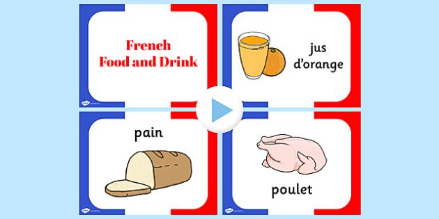 French Food PowerPoint - French, Food, Powerpoint, France, Eat