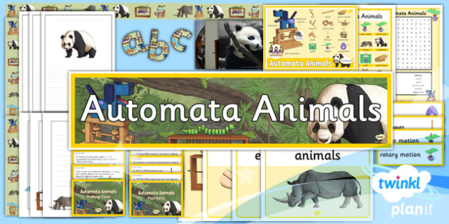 Design and Technology: Automata Animals UKS2 Unit Additional Resources
