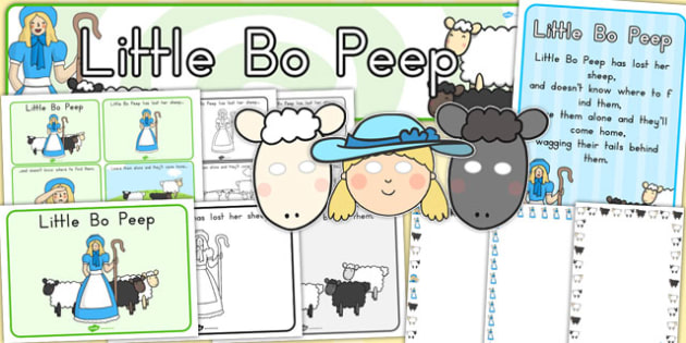 Little Bo Peep Resource Pack - australia, Little Bo Peep