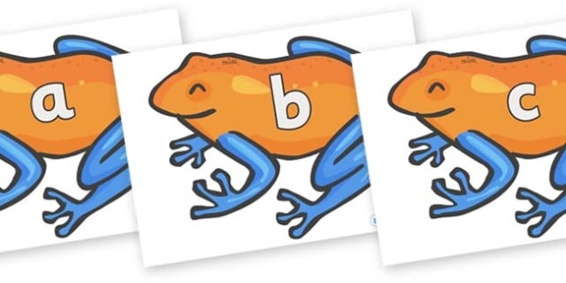 Phase 2 Phonemes on Tree Frogs - Phonemes, phoneme, Phase 2, Phase two, Foundation, Literacy, Letters and Sounds, DfES, display