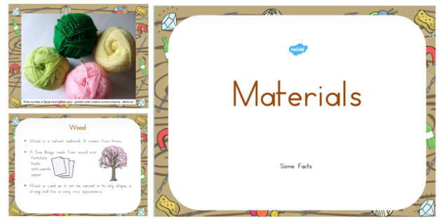 Materials Information PowerPoint - australia, materials, information