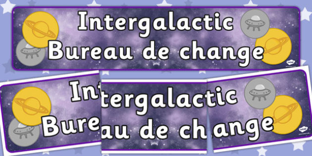 Space Travel Agency Role Bureau De Change Display Banner - role play, roleplay, roleplaying, space travel agents display banner, bureau de change display banner, bureau de change, acting, role-play, role-playing