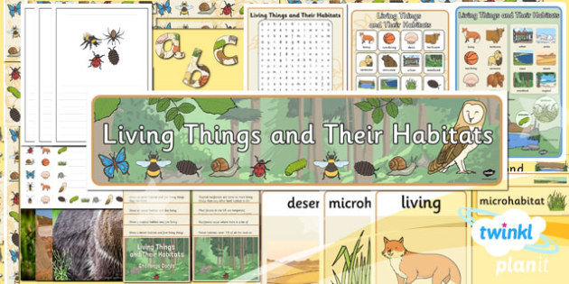 Science: Living Things and Their Habitats Year 2 Unit Additional Resources