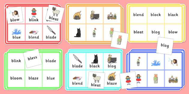 BL Bingo - bl sound, bingo, game, activity, sound, bl, sen, bingo game