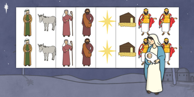 Christmas Nativity Images Editable  - christmas, nativity, xmas