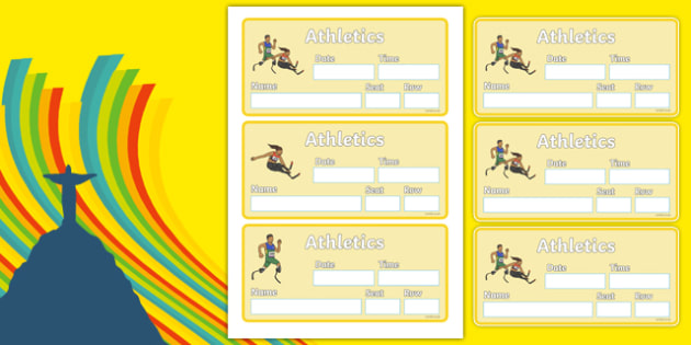 The Paralympic Events Athletics Event Tickets - Athletics, athlete, running, Paralympics, sports, wheelchair, visually impaired, ticket, entry, tickets, event, 2012, London, Olympics, events, medal, compete, Olympic Games