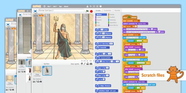The Romans Scratch Files - romans, scratch, files, ict, computing