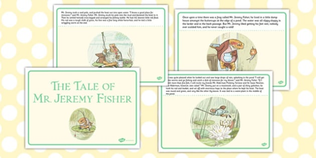 The Tale of Mr Jeremy Fisher Story - mr jeremy fisher, story, tale