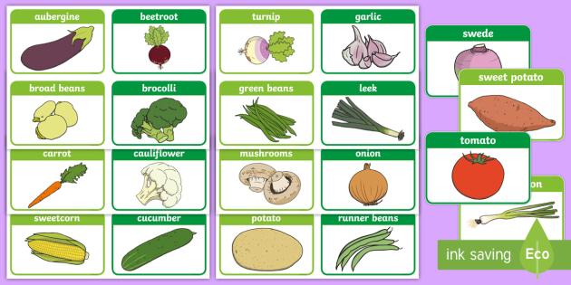 Vegetable Words Flashcards - Vegetable Flashcards - healthy eating, health, food , vegtables, vegitables, healthy eatng, flash ca
